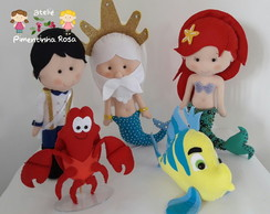 Kit Ariel 5 personagens