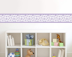 Borders - Floral Roxo