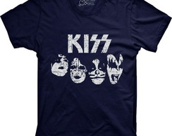 Camiseta Banda de Rock Kiss