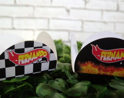 Forminha Doces Hot Wheels