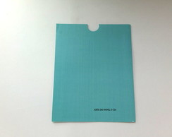 Envelope Luva Azul Tiffany