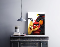 "Placa decorativa ""Angry Birds"""