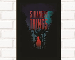 Poster com Moldura Stranger Things 2