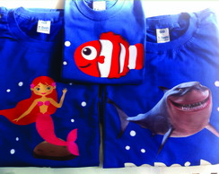 Camisetas Personalizadas Fundo do Mar 2