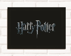Poster com Moldura Harry Potter