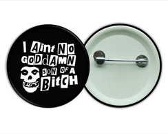 Botton 3,5 - Buton Misfits Punk Rock