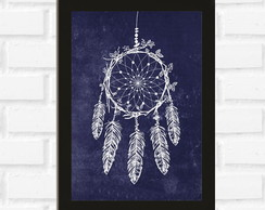 Poster com Moldura Dream Catcher
