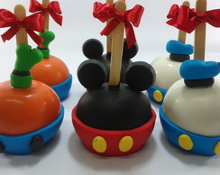 Maçã Decorada- Turma do Mickey