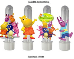 Tubete com Aplique - Backyardigans