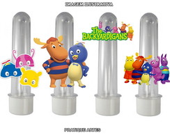 Tubete com Aplique 3D - Backyardigans