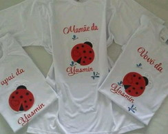 Kit Camiseta personalizadas bordada
