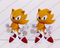 "2 Displays de mesa - SONIC - Miles ""Tail"
