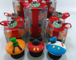 Cupcake/Mini Cupcake - Turma do Mickey