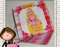 Rótulo para chocolate baton barbie