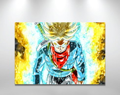 Placa Decorativa 40x29 Dragon ball super