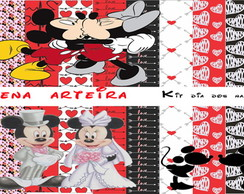 KIT DIGITAL MICKEY E MINIE NAMORADOS