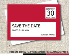 Convite - Save the Date