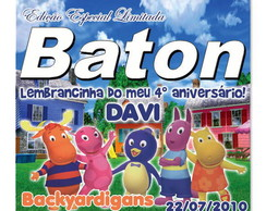 Arte digital Baton Backyardigans