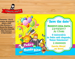 Save the date / Arte Digital Infantil