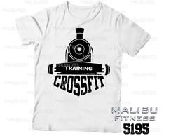 nueva diseño de variedad tienda de descuento Camiseta Personalizada Crossfit | Elo7