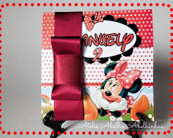 Convite Channel Minnie Mouse