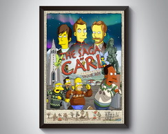 "Quadro ""The Saga Carl"""