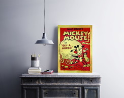 "Placa decorativa ""Mickey Mouse"""