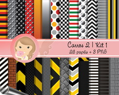 Kit Digital Scrapbook CARROS 2 (Kit 1)pp