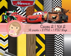 Kit Digital Scrapbook CARROS 2 (Kit 2)