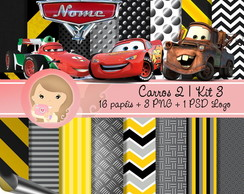Kit Digital Scrapbook CARROS 2 (Kit 3)