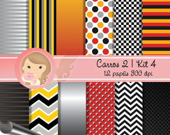 Kit Digital Scrapbook CARROS 2 (Kit 4)pp