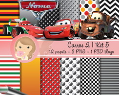 Kit Digital Scrapbook CARROS 2 (Kit 5)