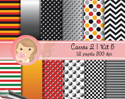 Kit Digital Scrapbook CARROS 2 (Kit 5)pp