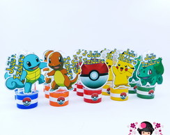Mini Tubete - Tema Pokemon