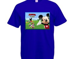 Kit 3 Camisetas A Casa do Mickey