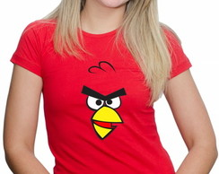 Camiseta do Angry Birds
