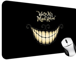 Mouse Pad Scary Cartoon Smile
