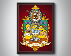 "Quadro ""The Simpson.s"""