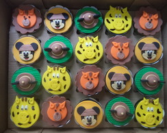 Cupcakes - Mickey Safari