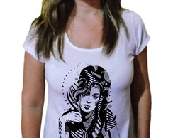 T-shirt Feminina Amy winehouse 35