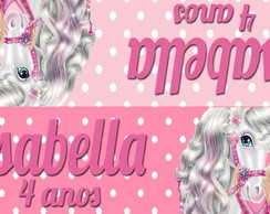 Lapela Digital Barbie aventuras cavalo