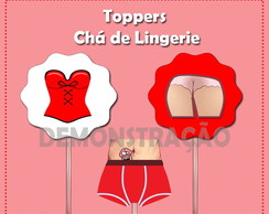 Kit Topers chá de lingerie digital