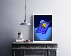 "Placa decorativa ""The Simpson.s"""