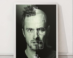 Quadro retro vintage séries Breaking Bad A3