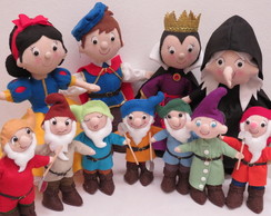 Kit Branca de Neve - 11 PERSONAGENS