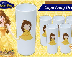 Copo Long Drink - Bela e a Fera