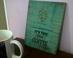 Quadro Decorativo Coffe