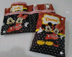 Kit Higiene Temático Mickey e Minnie