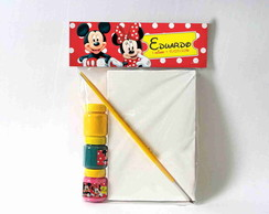 Kit Pintura Mickey Minnie