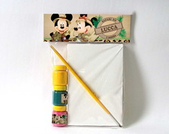 Kit Pintura Mickey Safari